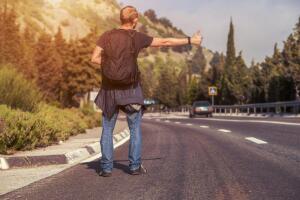 Автостоп - способ самовыражения  или нравственное убожество?