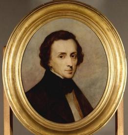 Фредерик Шопен. Масло. 1847 г.