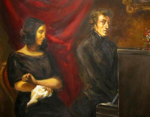 Шопен и Жорж Санд на Майорке (современная реконструкция 2008 г.)