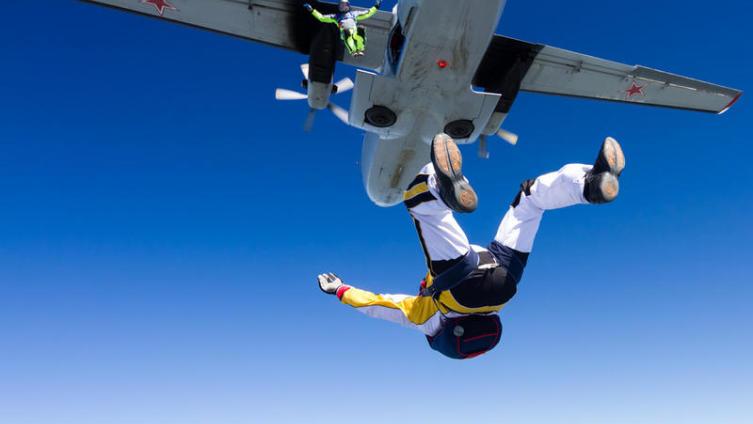Что делать, если прыгнуть с парашютом хочется, но страшно?