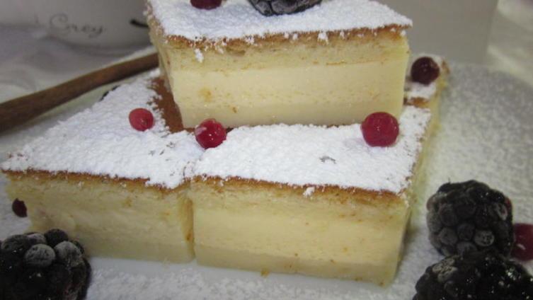 Волшебное умное пирожное (magic cake)