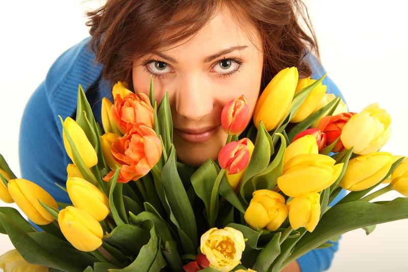 Цветы с 8 марта женщинам детские праздники доставка цветов сочи