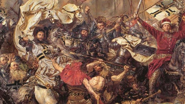 Ян Матейко. «Битва под Грюнвальдом» (фрагмент)