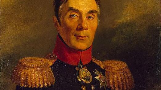 А.А. Аракчеев. Фрагмент портрета Джорджа Доу