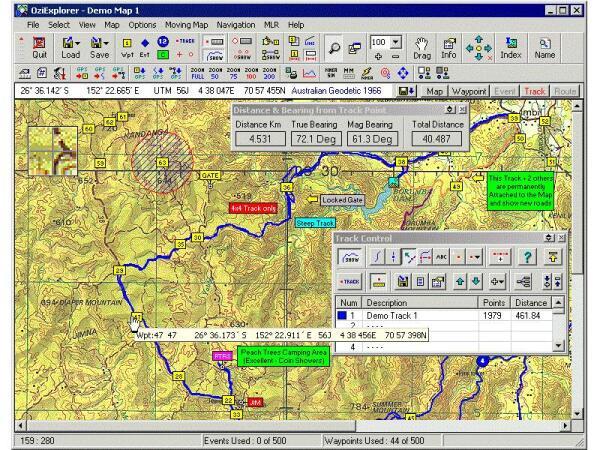 Программа навигации OZI Explorer