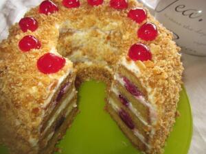 Как приготовить торт «Франкфуртский венок»?