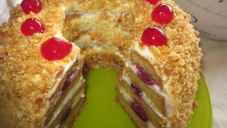 Торт «Франкфуртский венок»