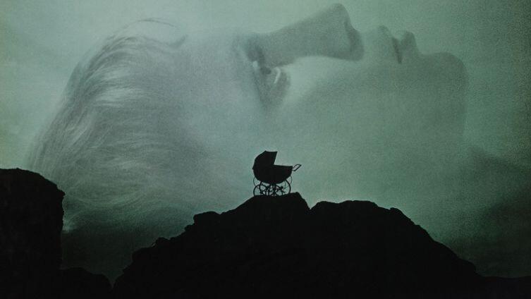 Фрагмент постера к фильму  «Ребенок Розмари»,1968 г.