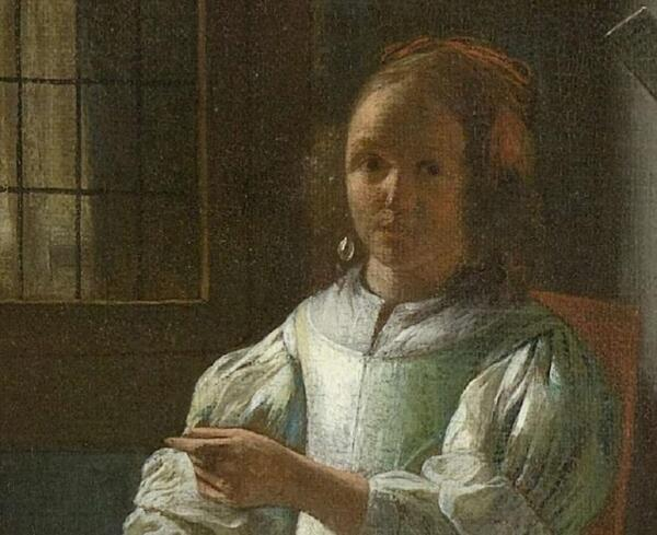 Питер де Хох «Посыльный с письмом». О чем письмо?