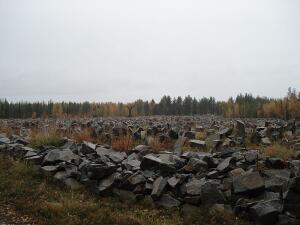 Финская коммуна Суомусалми: зачем на поле двадцать тысяч каменных глыб?