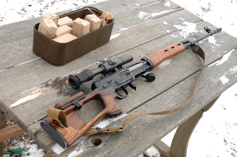Снайперской винтовки и как ее сделать 931