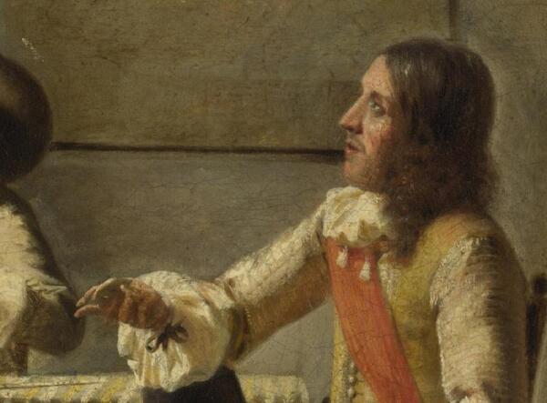Pieter de Hooch. Бокал вина. Пить или не пить?