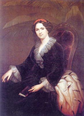С. К. Зарянко. Портрет княгини Трубецкой, 1856