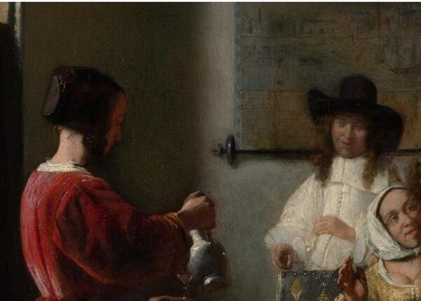 The Visit (Визит), фрагмент «Гость и служанка»