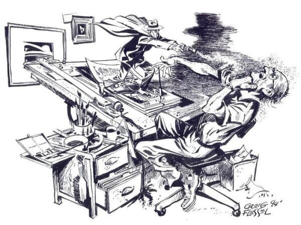 Песочный Человек из комиксов Крейг Флиссла 1930-х годов