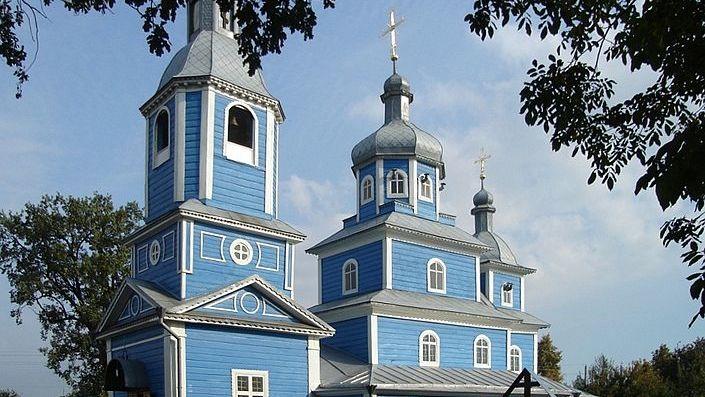 Город Слуцк. Свято-Михайловская церковь