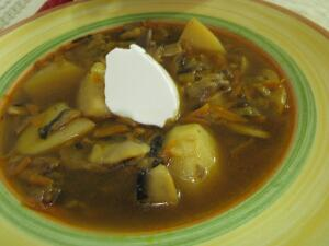Как приготовить вкусный грибной супчик?