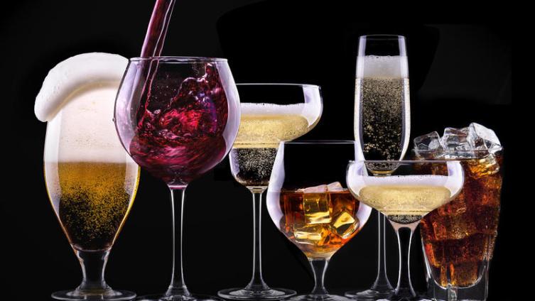 Сколько калорий в бокале?