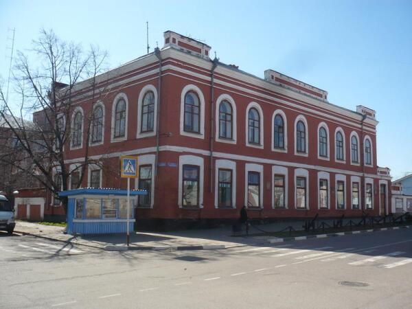 Старинная городская застройка