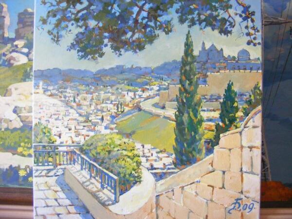 Григорий Фирер, Иерусалим, 2009