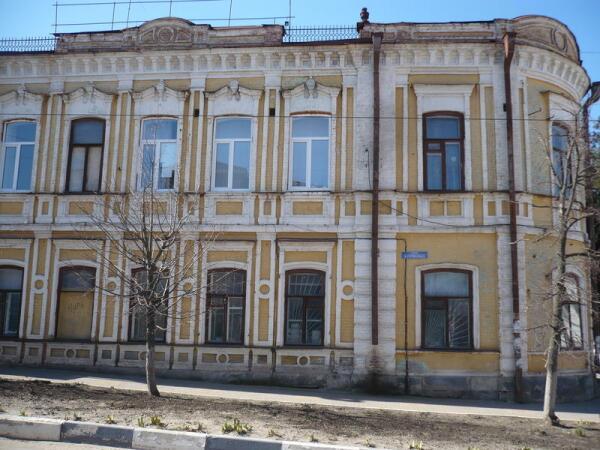Улица Готвальда в Павловске