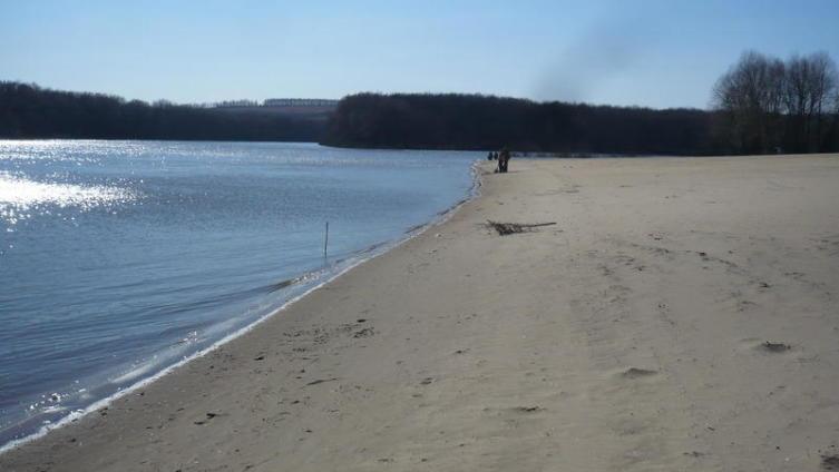 Пляж в Павловске
