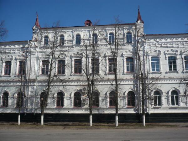 В центре Павловска
