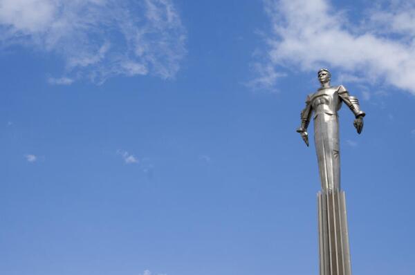 А вы видели Гагарина? Часть 2