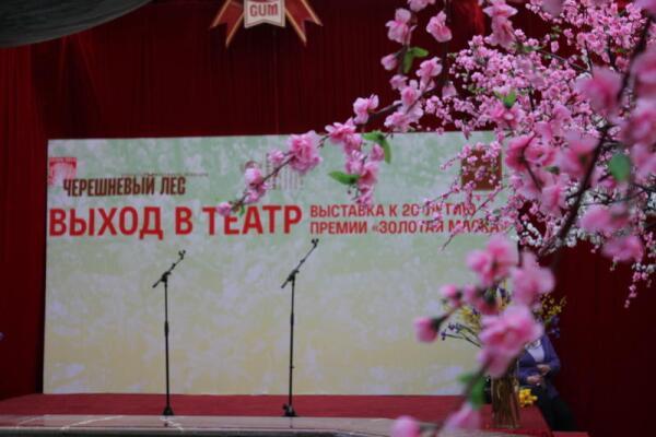 Чему посвящена выставка «Выход в театр»?