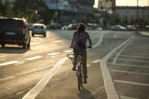 Берлин -  рай для велосипедистов? Близнецы в прицепе