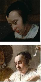 Питер де Хох, фрагменты картин