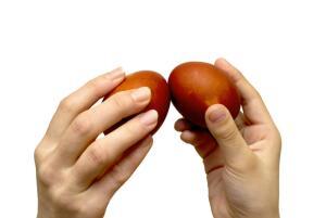 Раньше для «боя» можно было использовать только неосвящённые яйца!