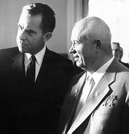 Хрущёв и Никсон