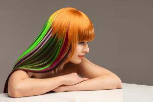 Окрашивание седых волос. Как получить желаемый оттенок?
