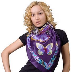 Платок шелковый «Фиджи»