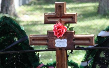 Крест на могиле В.Н. Павлова