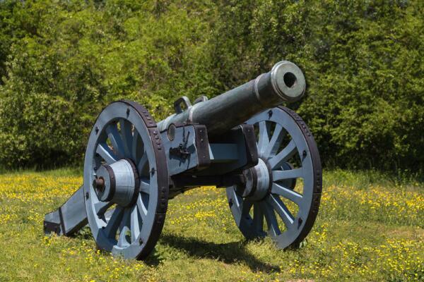 Первая пушка была отлита в Германии, в 1300 году