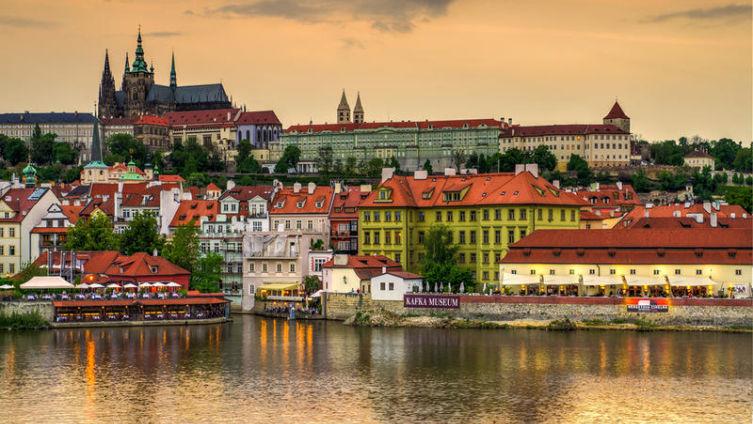 Прага - город Чапека