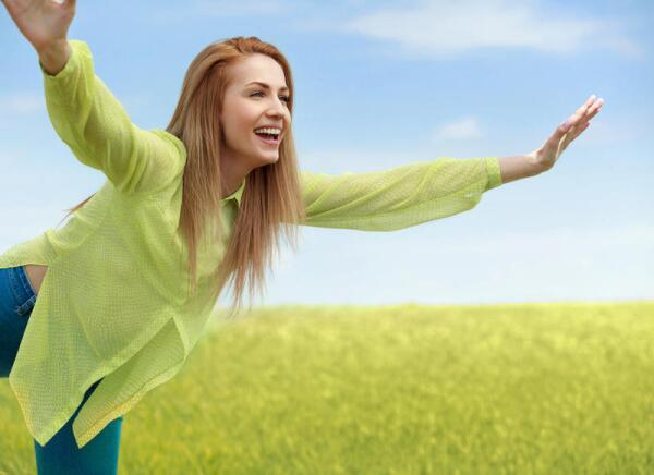 Зеленый цвет: я нахожусь в гармонии с собой и окружающими