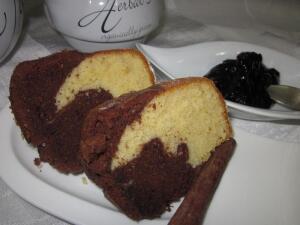 Как приготовить мраморный кекс?