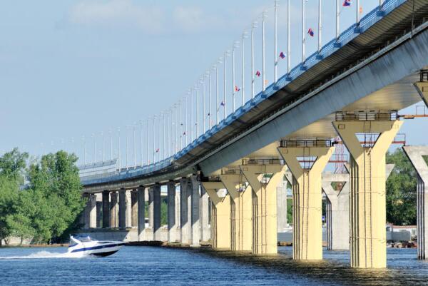Строительство волгоградского моста