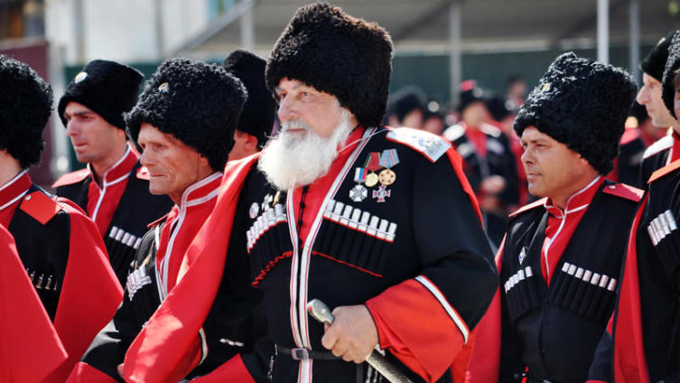 Парад казачьего войска в Краснодаре