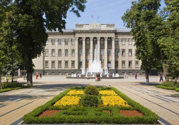 Краснодар, здание Законодательного Собрания