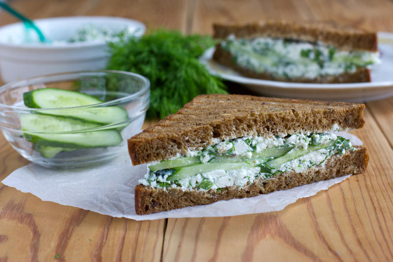 Творог на бутерброды