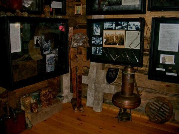 Экспозиция музея в деревне Забродье