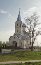 Церковь Космы и Домиана в с. Городище. Общий вид с юго-запада