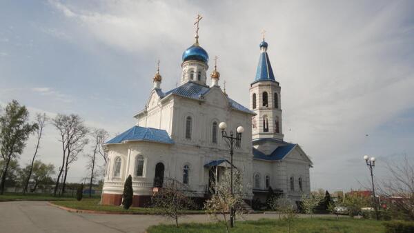 Церковь Космы и Домиана в с. Городище. Общий вид с юго-востока