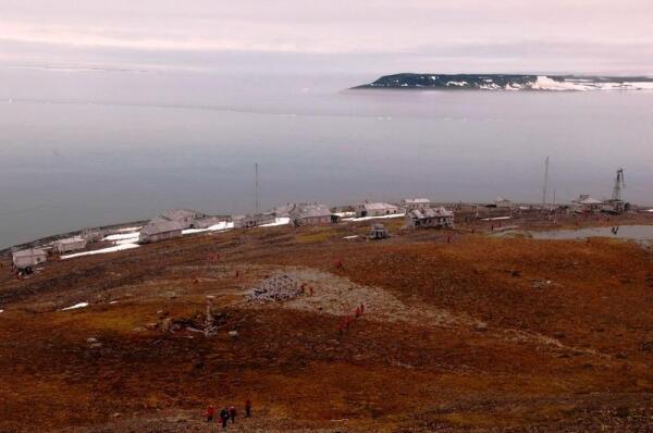 Вид на поселок с высоты