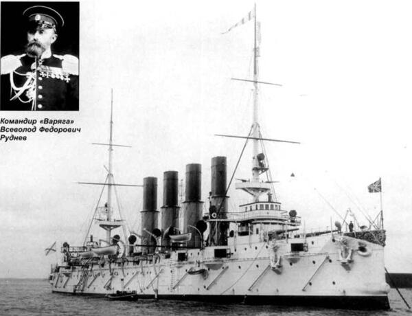 Крейсер «Варяг» и его командир, 1902 год