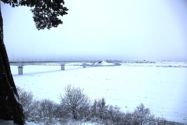 Мост через Сухону